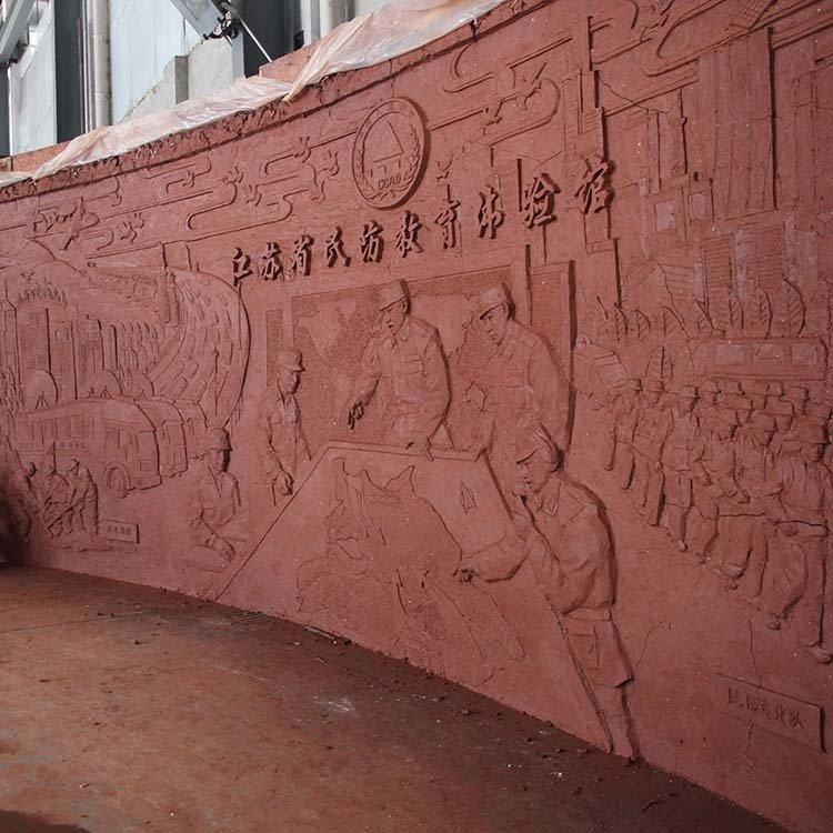 民防铜浮雕4